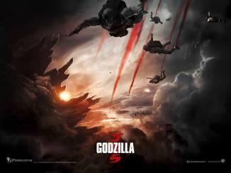 Godzilla poster 2014 marines
