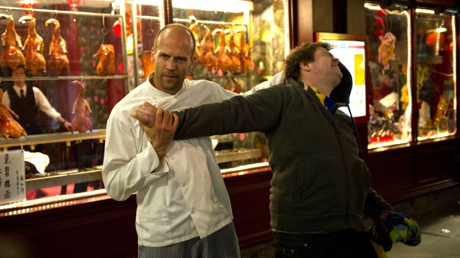 Jason Statham Kicking Ass in Hummingbird
