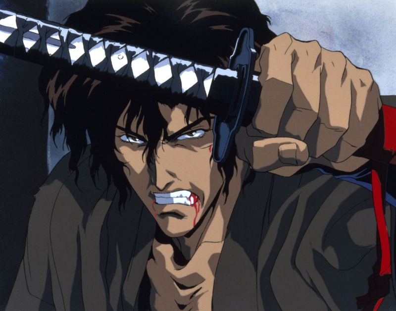 Ninja Scroll Jubei with Sword