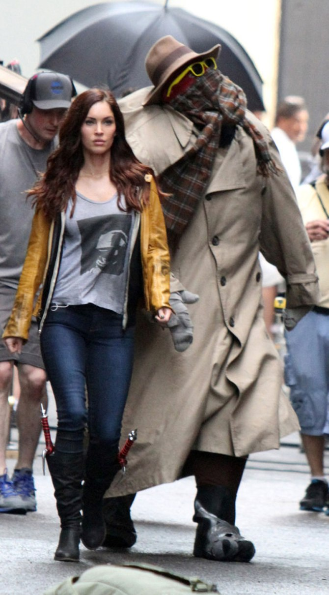 MEGAN FOX on Teenage Mutant Ninja Turtles Movie Set in New York