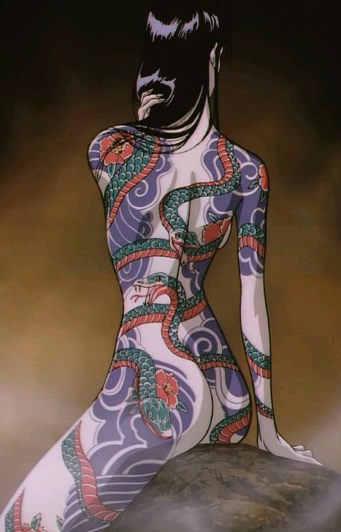 Ninja Scroll Benisato tatoos