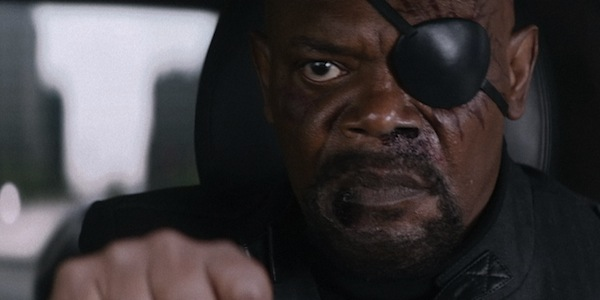 Nick Fury Captain America