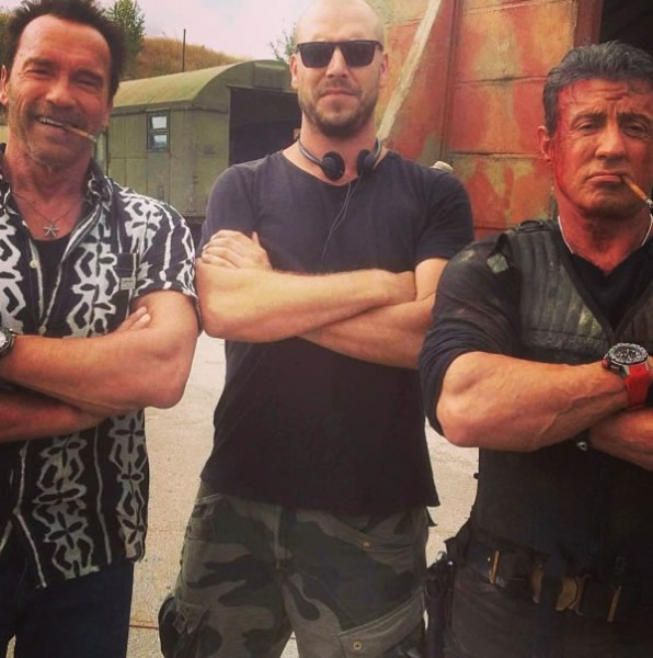Expendables 3 set photo