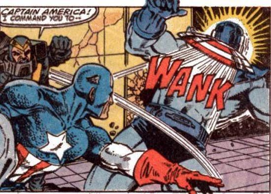 Captain America Wank