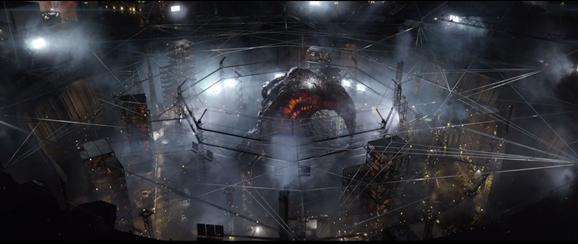 Cocoon MUTO Godzilla 2014