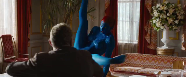 Jennifer Lawrence Mystique X-Men Days of Future Past