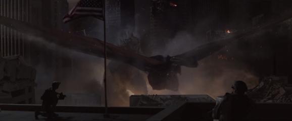 MUTO Flying Godzilla 2014