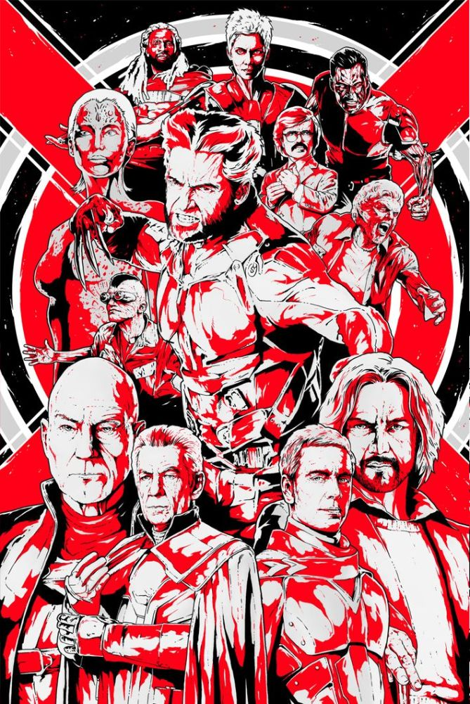 X-men Days of Future Past Alternative Poster