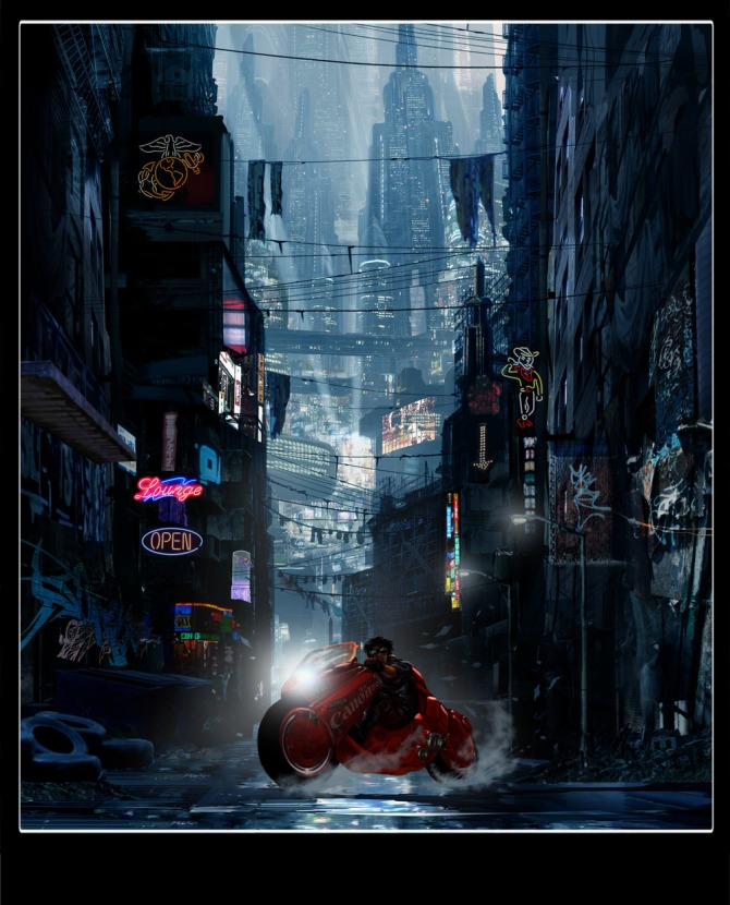 Concept Art For Live Action Akira