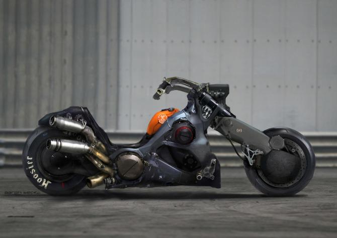 Live Action Akira Concept Bike