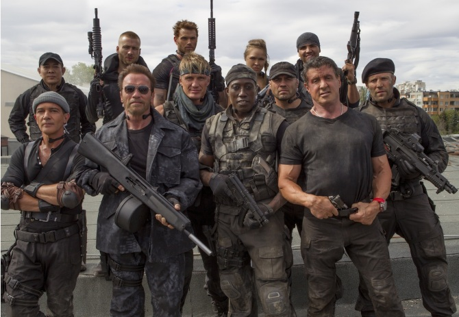 Expendables 3 Cast