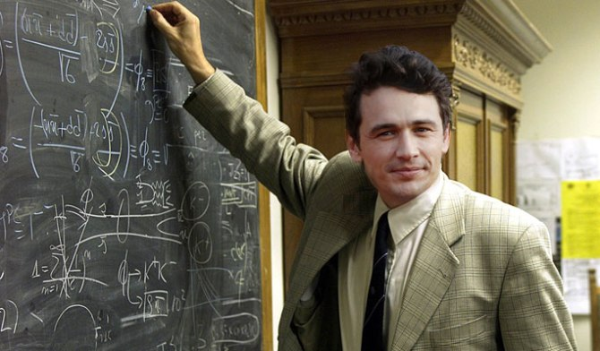 James Franco Teaches
