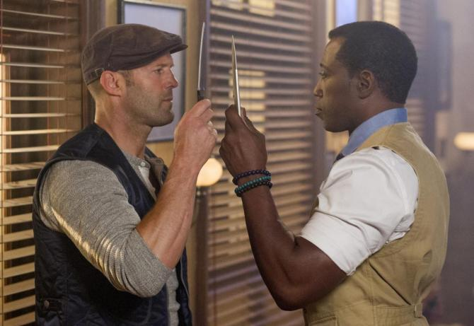 Jason Statham Wesley Snipes Expendables 3