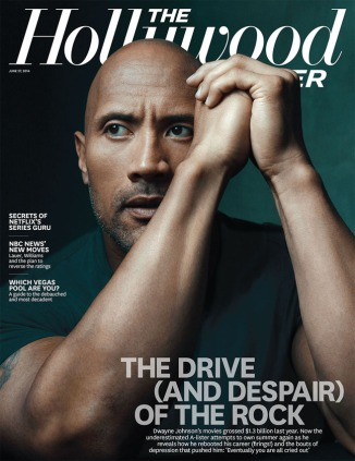 The Rock Dwayne Johnson Hollywood Reporter