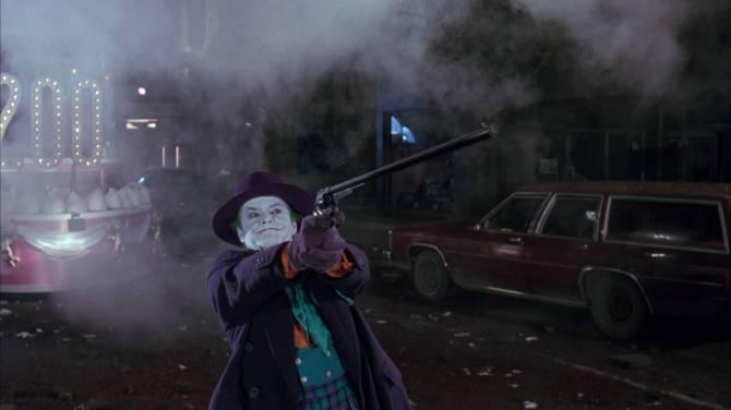 Batman 1989 Joker gun Jack Nicholson