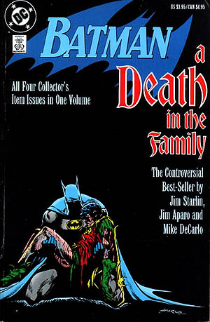 Batman Death In the Family Cover