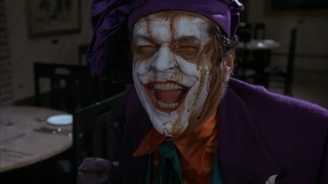 Jack Nicholson Joker batman Tim Burton