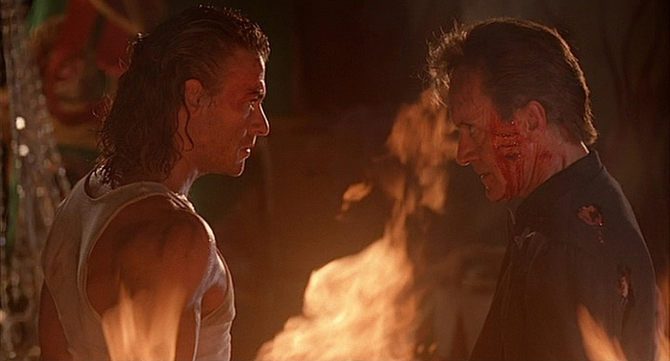 Hard Target Lance Henriksen Jean-Claude Van Damme