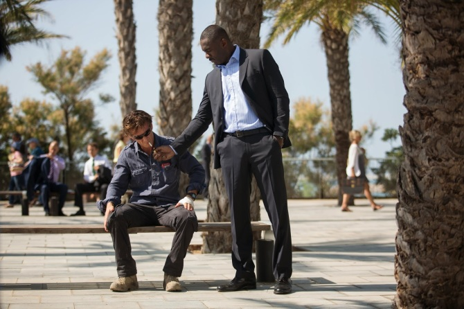 Sean Penn Idris Elba The Gunman 2015