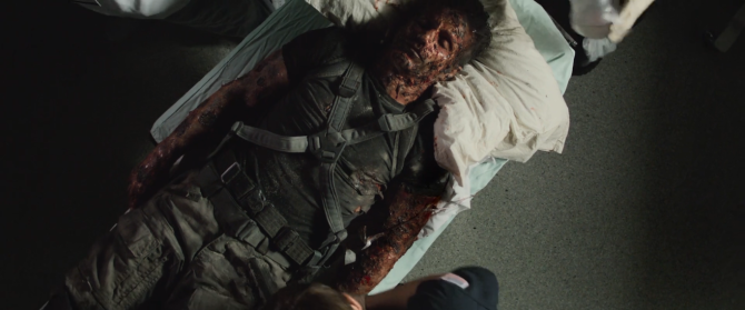 Captain America Winter Soldier Frank Grillo Burnt Crossbones