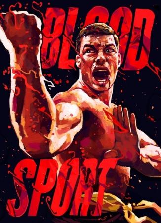Bloodsport poster JCVD Gian Galang