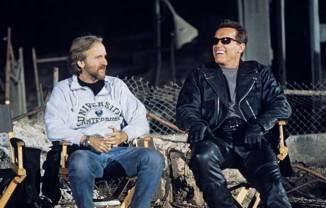 James Cameron Arnold Schwarzenegger Terminator 2