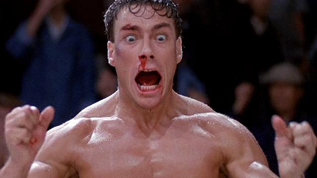JCVD Bloodsport face