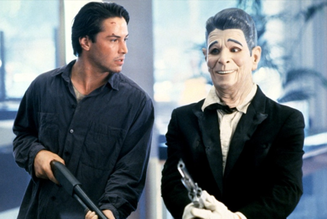 Keanu Reeves Patrick Swayze JFK Point Break