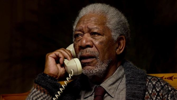 Morgan Freeman Lucy movie Scarlet Johansson