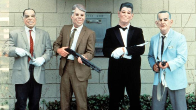 The Ex Presidents Point Break 1991