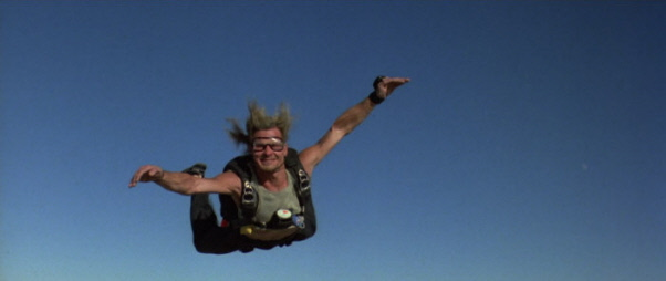 Patrick Swayze Bodhi Point Break Skydive