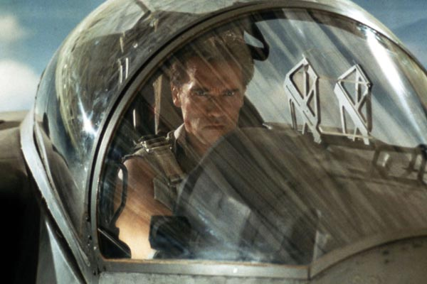 True Lies Arnold Schwarzenegger Jet