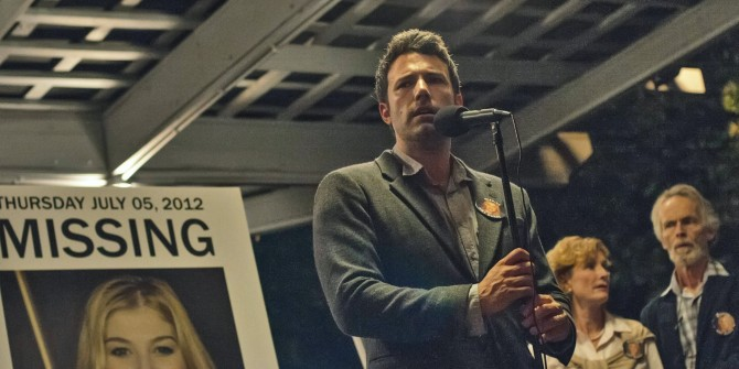 Gone Girl Ben Affleck Missing Poster