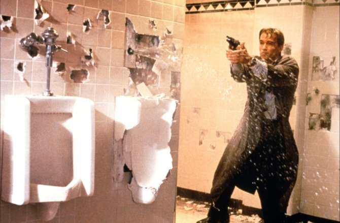 True Lies Bathroom Arnold Schwarzenegger