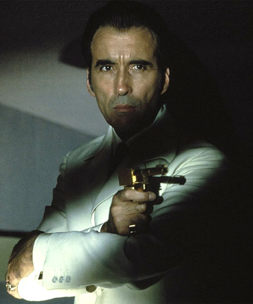 Christopher Lee The Man With The Golden Gun Scaramanga