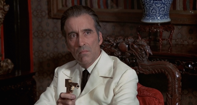 Christopher Lee Scaramanga The Man With The Golden Gun