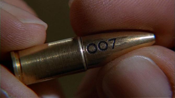 James Bond 007 Bullet