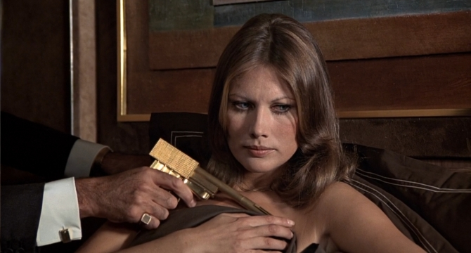 The Man With The Golden Gun Andrea Anders