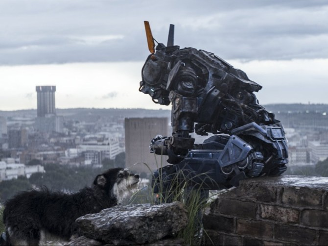 Chappie Dog 2015 movie