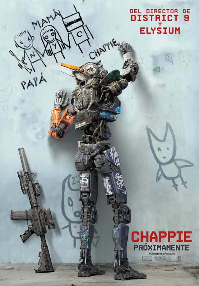 chappie international poster neil blomkamp