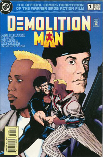 Demolition Man Comic issue 1