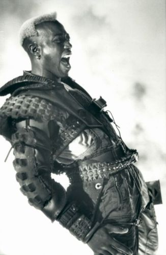 Wesley Snipes Demolition Man Simon Phoenix B&W