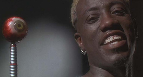 Simon Phoenix Wesley Snipes Demolition Man eyeball