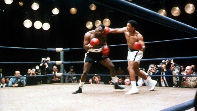 Ali movie boxing scene Will Smith