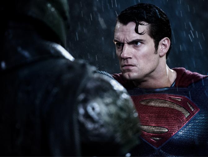 Batman vs Superman Superman Henry Cavil