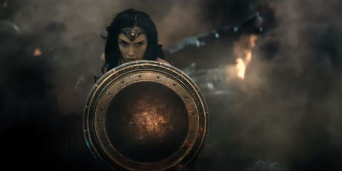 Batman vs Superman Wonder Woman Gal Gadot Shield