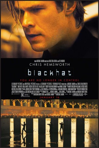 Blackhat 2015 movie poster high res chris hemsworth michael mann