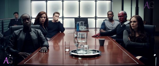 Civil War table scene