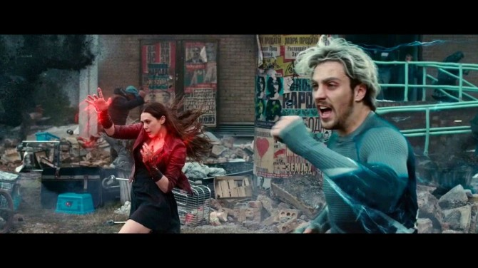 Age of Ultron Maximoff twins