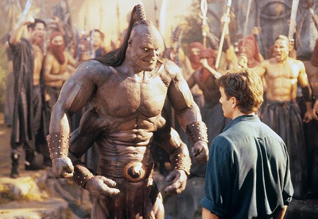 Mortal Kombat movie Johnny Cage Goro